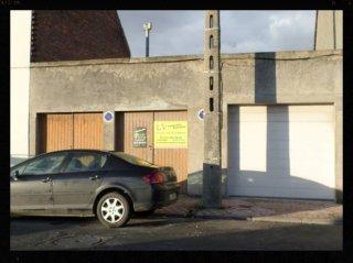 Dépose des garages
