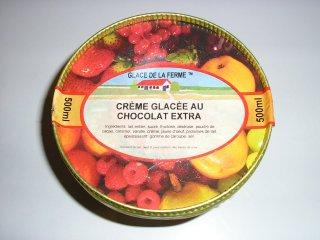 Crème glacée au chocolat extra