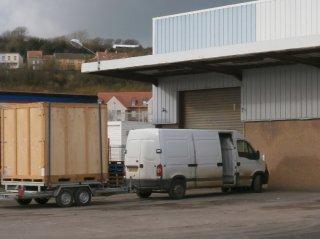 Acheminement Container à votre porte !