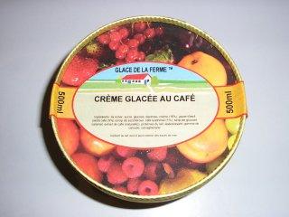 Crème glacée au café