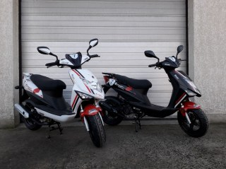 Neuf Scooter 50 MASH Bibop Race disponible
