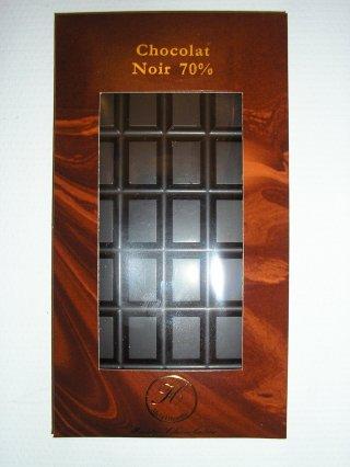 Chocolat noir fondant 70%