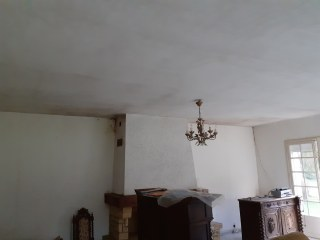 rénovation de plafond