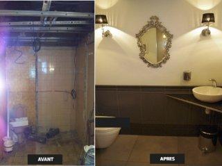 Rénovation WC à Aix en Provence