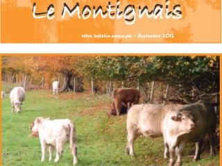 Le Montignais septembre 2013