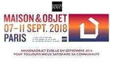SALON MAISON ET OBJET SEPTEMBRE 2018