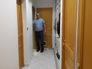 rénovation du couloir suite du bureau
