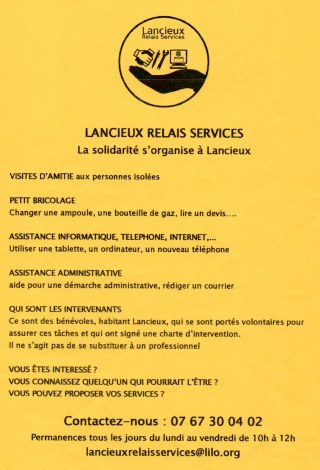 LANCIEUX RELAIS SERVICES