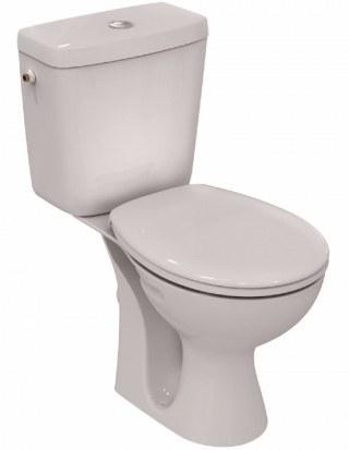 Pack WC sortie horizontale blanc série ULYSSE