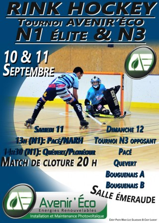 affiche tournoi rink hockey avenir 'eco