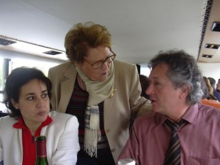 Mme Santana, Jean Louis, Jacqueline