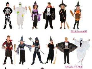 Costumes enfants Halloween