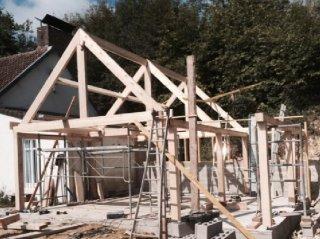 Bâtiment ossature bois