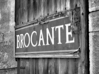 Brocante antiquité