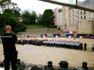 Bal des pompiers 2017 - Paris