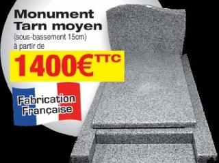 MONUMENT granit tarn moyen