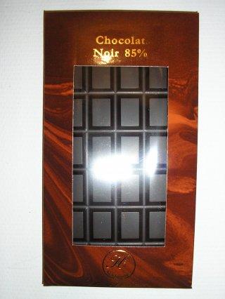 Chocolat noir fondant 85%