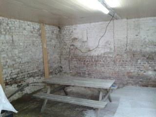 aménagement d'un bureau dans une ancienne grange
