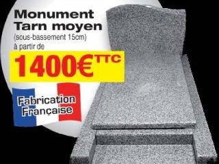 monument a partir de 1400€ en granit français