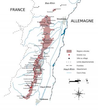 Alsace et tous ces cépages