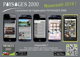 Evolution de l'application