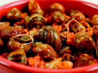 Escargots en sauce