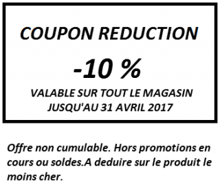 COUPON REDUCTION