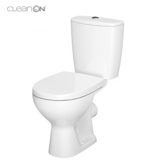 Pack WC sortie horizontale blanc ARTECO CLEAN ON