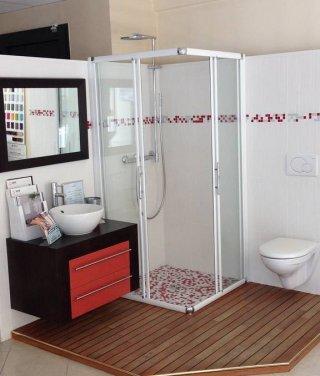 Réalisation de salle de bains sur mesure
