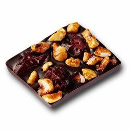 Carré gourmand cranberry-noisettes