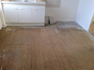rénovation sol parquet vinyl