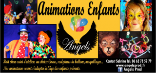 animation enfant, maquillage, nimes, montpellier