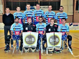 Equipe Nationale 2 pacé Rink hockey