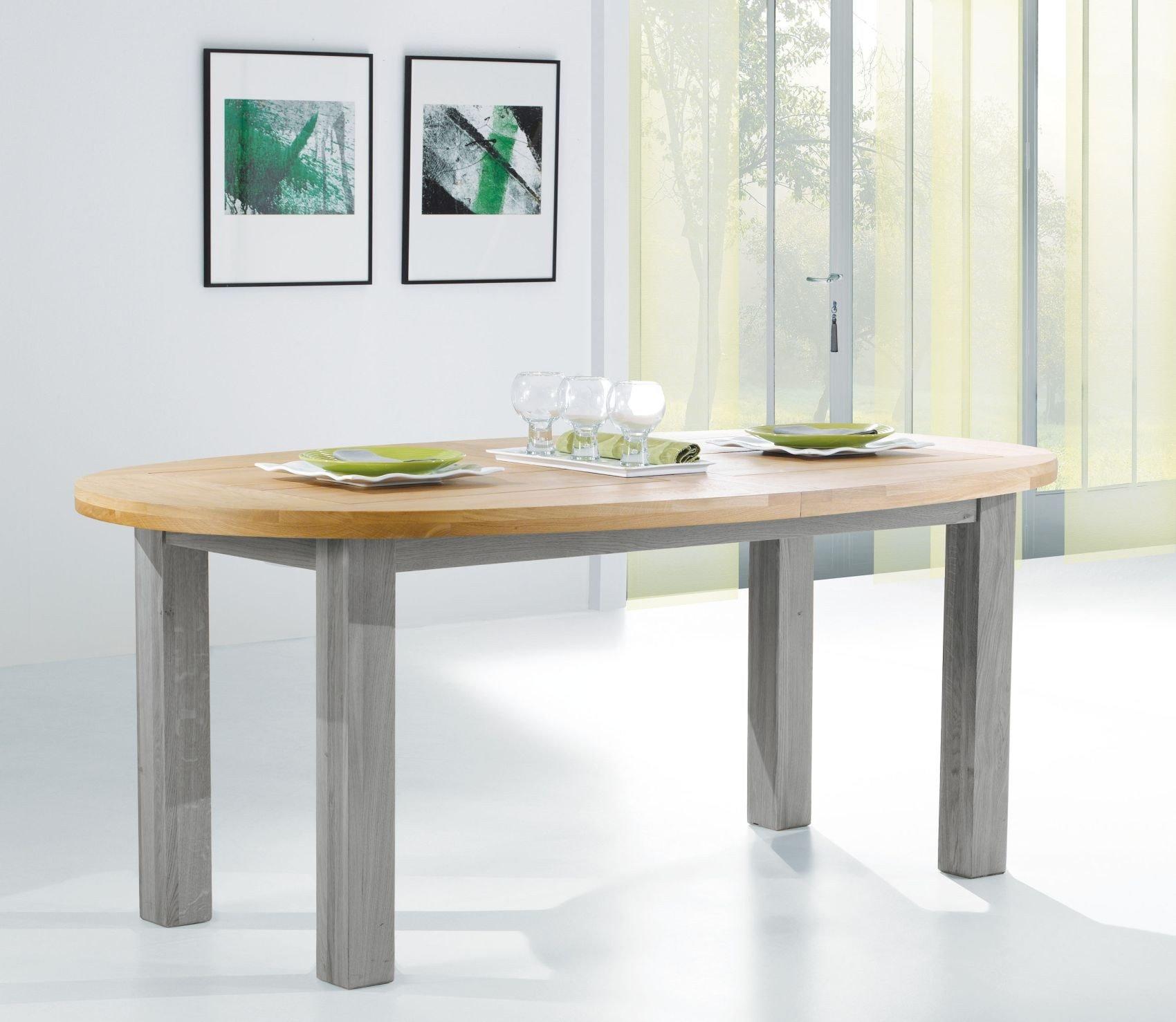 ROMANCE TABLE OVALE