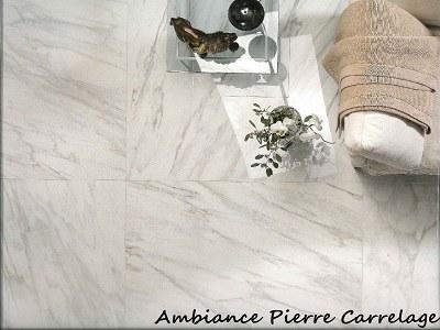 carrelage effet marbre