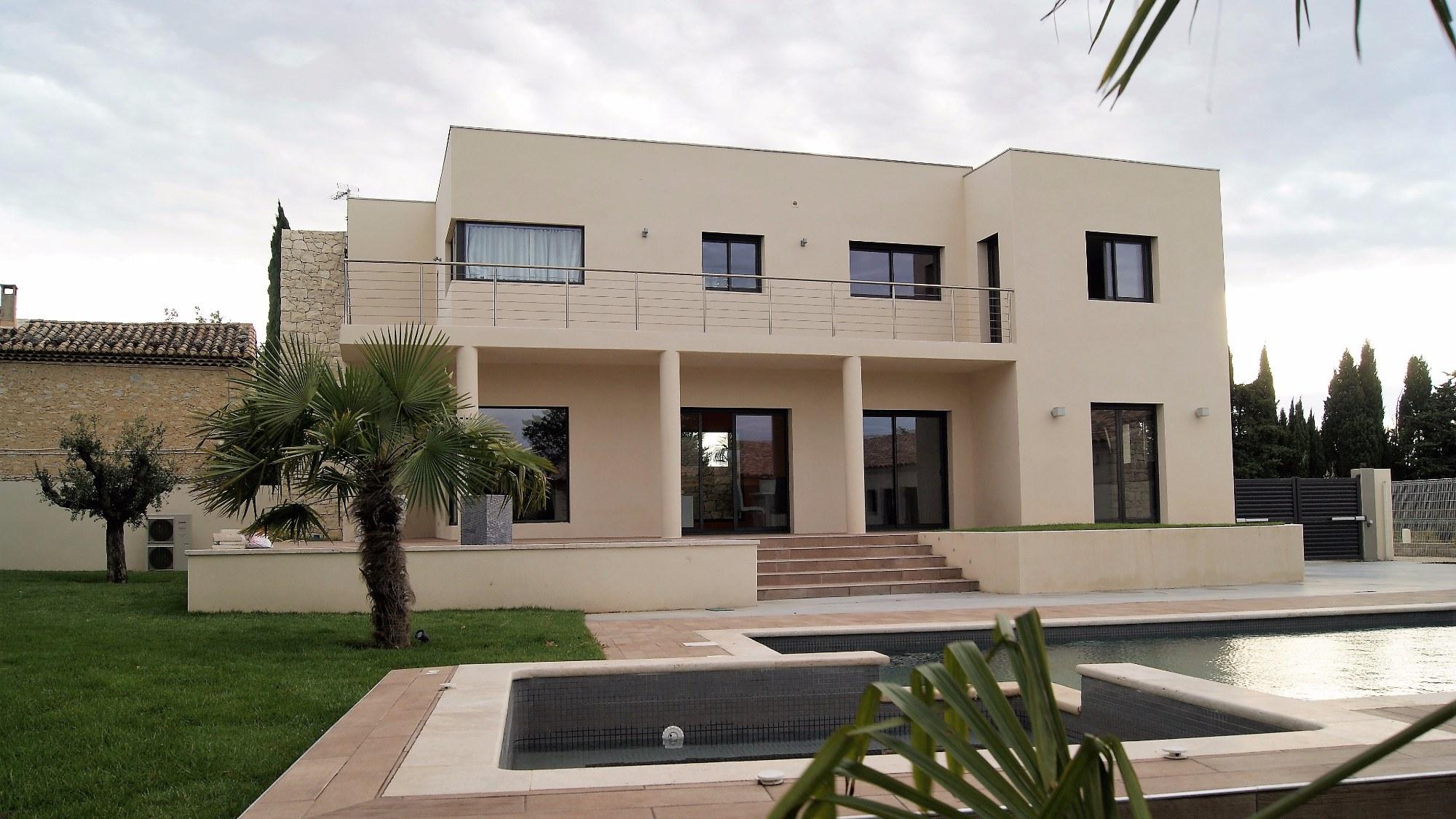 villa construction moderne