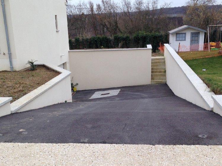 descente de garage