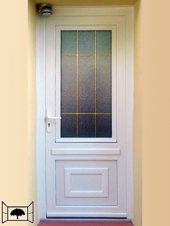 Porte PVC door'plast Grenoble Bipa