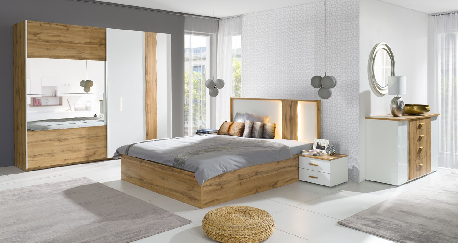 CHAMBRE WOOD MODERNE