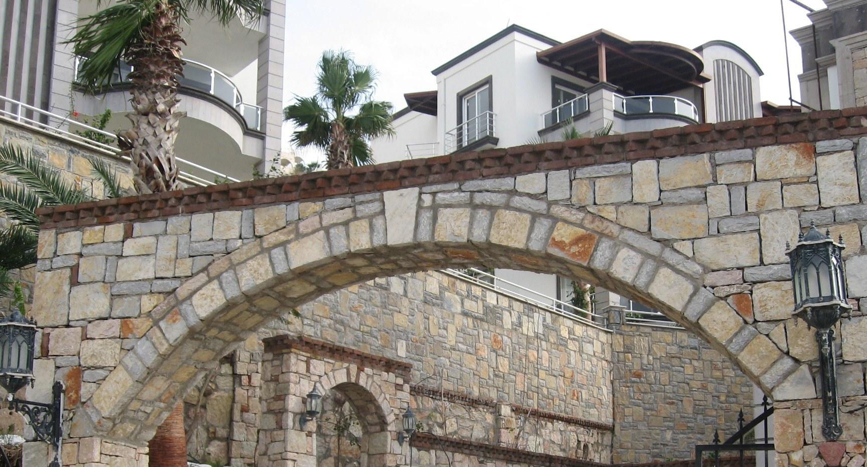 villa en pierre