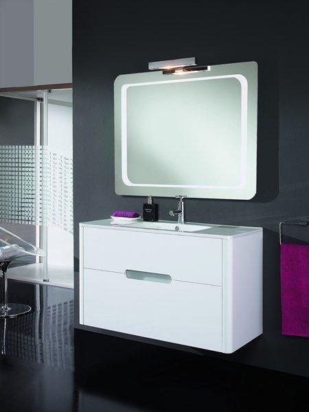 ensemble salle de bains meubles sanitaire ambiance pierre carrelage