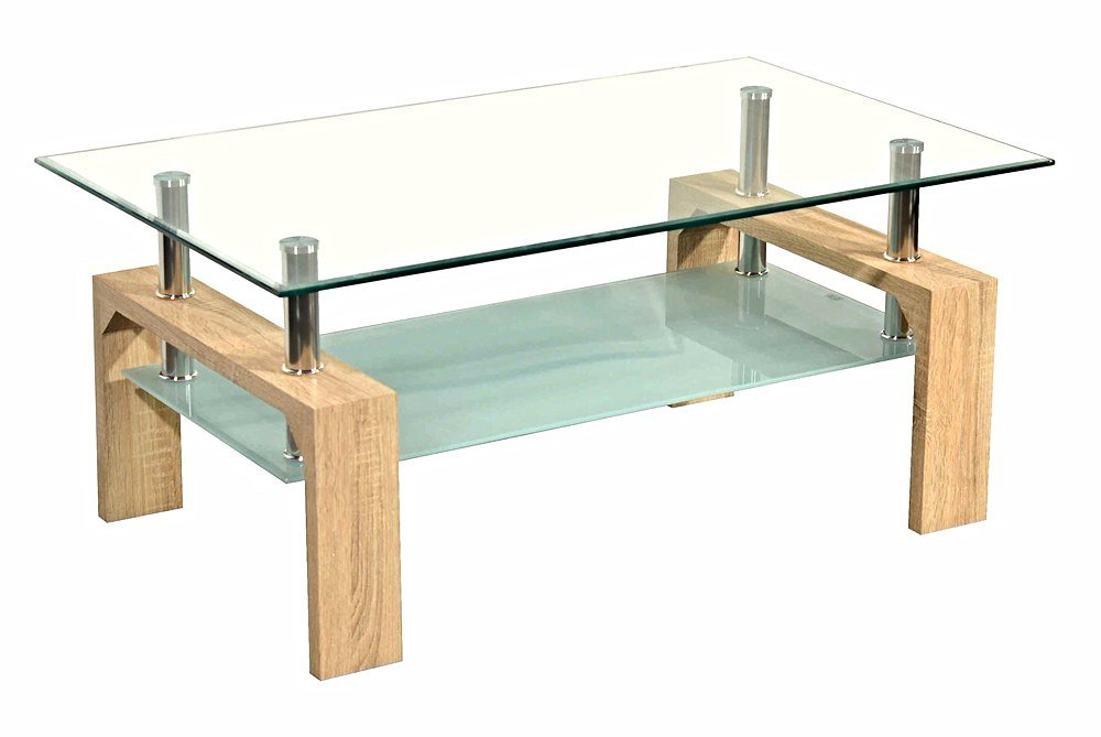 TABLE BASSE MODERNE CHENE