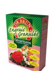 Engrais géraniums