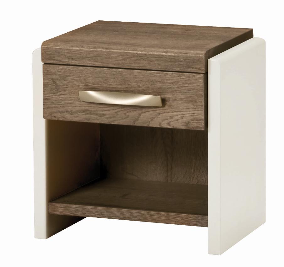 chevet calypso Mélaminé bois laque moderne