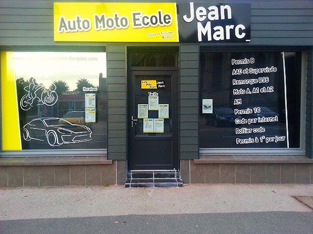 facade auto ecole jean marc rexpoede