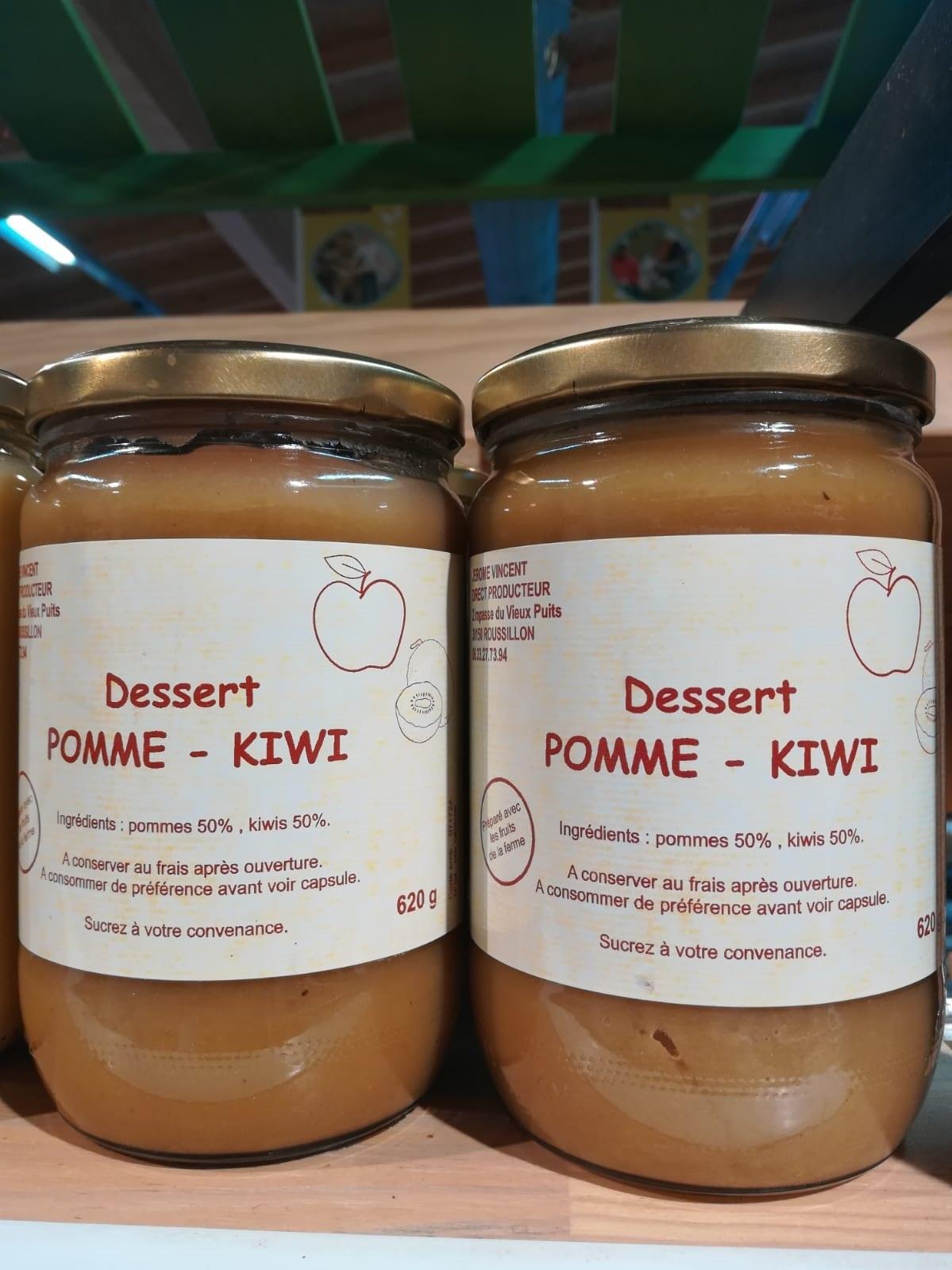 Compote pomme-kiwis