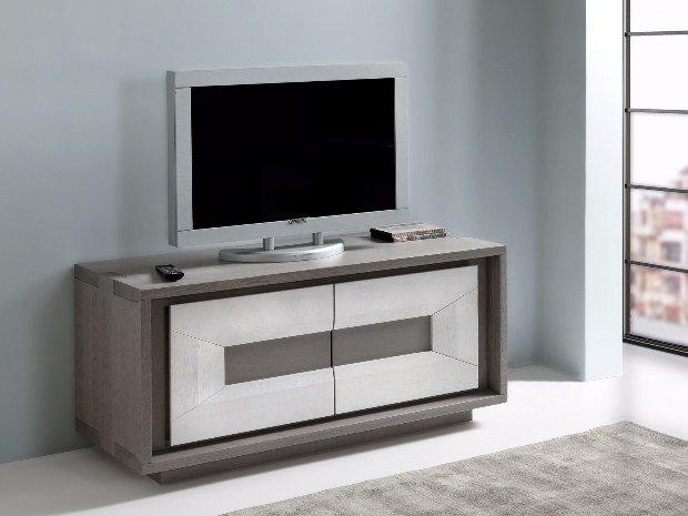 Portland Meuble Tv 2 Portes Fabricants Reunis Meubles Decorations