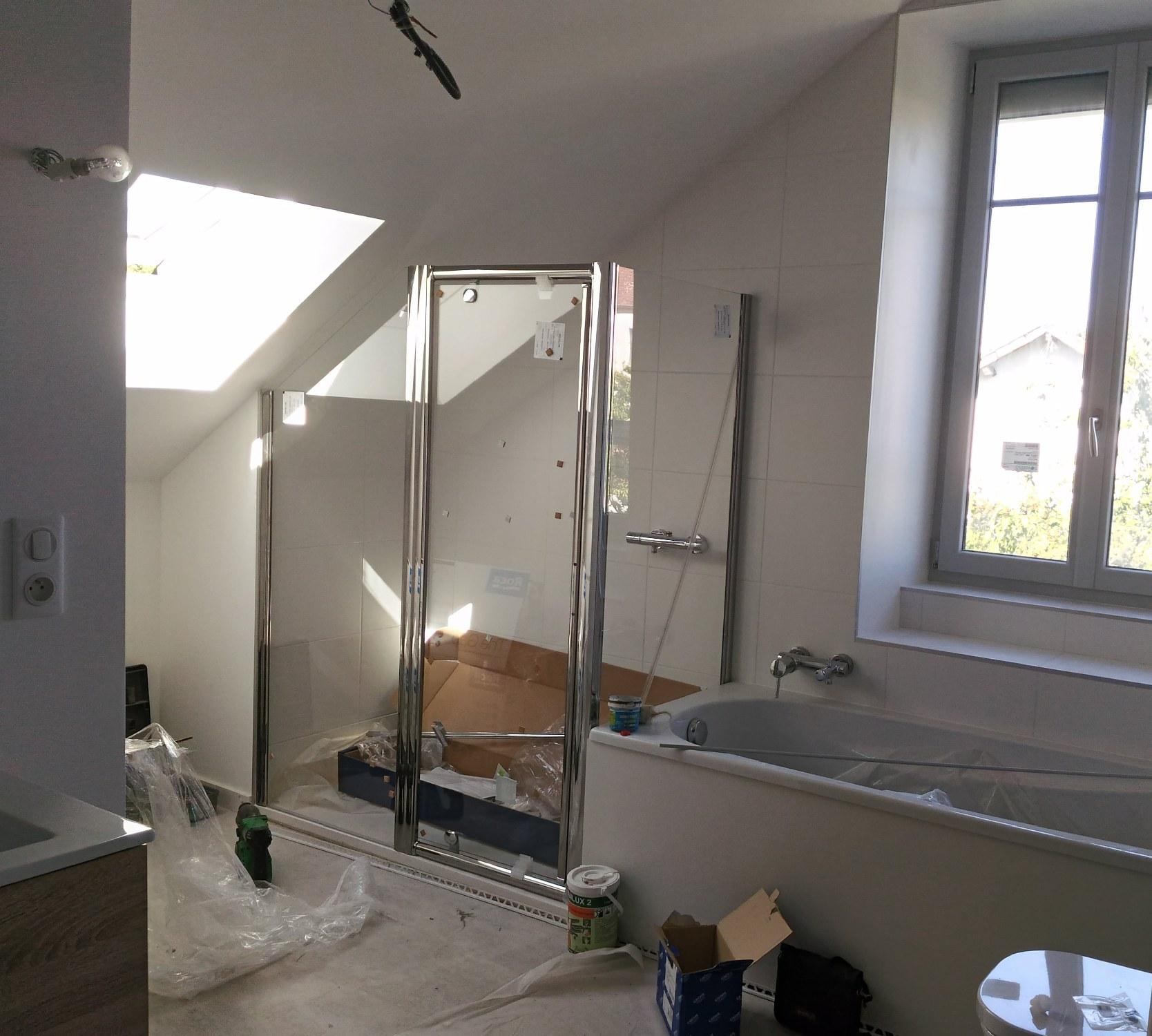 creation de salle de bains