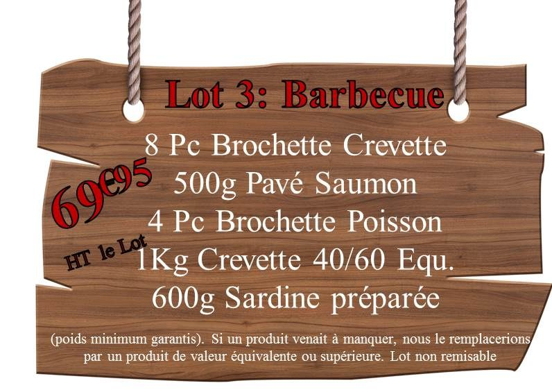 Lot 3 Barbecue