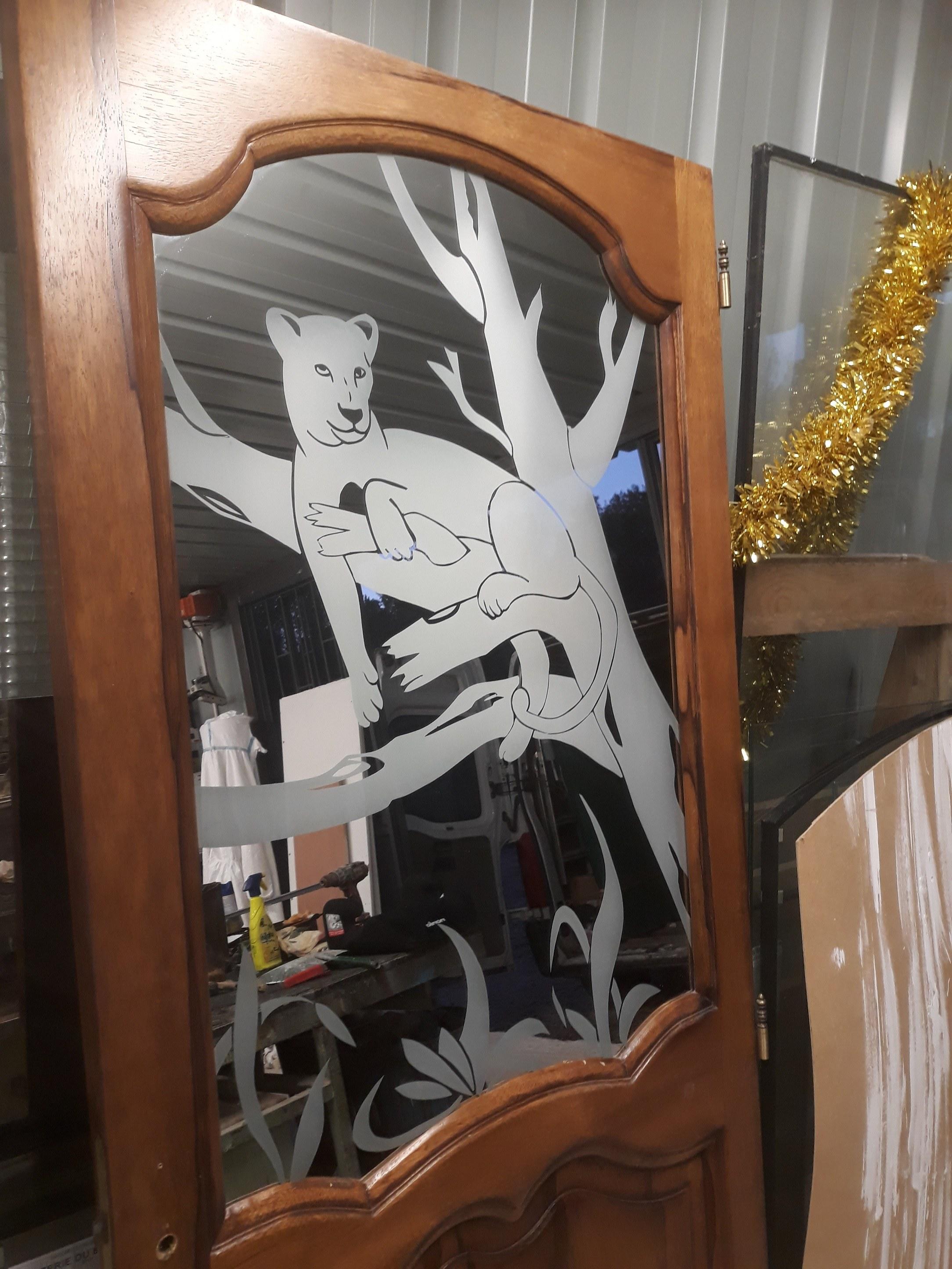 motif miroir
